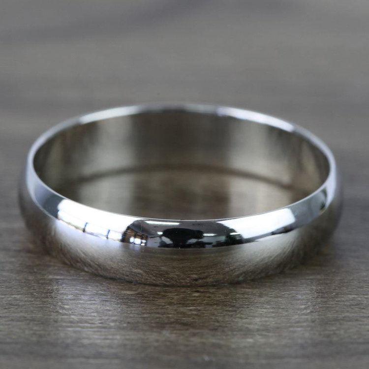 Mid-Weight Men's Wedding Ring in Platinum (5mm) | 03