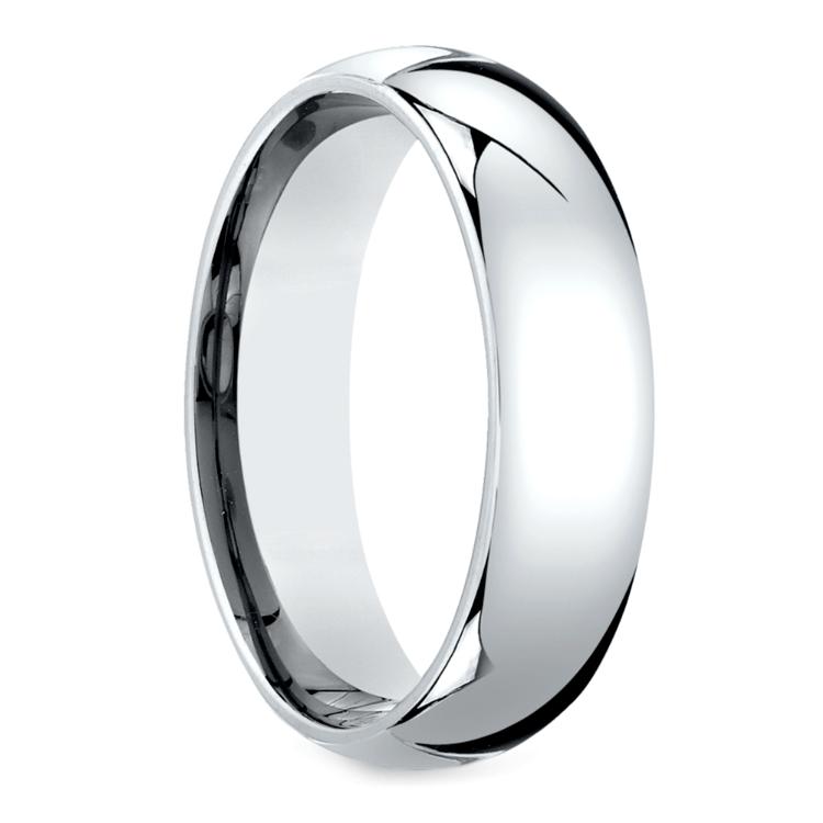 Mid-Weight Men's Wedding Ring in Platinum (6mm) | 02