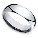 Mid-Weight Men's Wedding Ring in Platinum (7mm) | Thumbnail 01