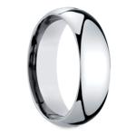 Mid-Weight Men's Wedding Ring in Platinum (7mm) | Thumbnail 02