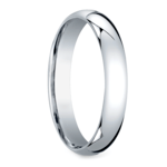 Mid-Weight Men's Wedding Ring in White Gold (4mm) | Thumbnail 02
