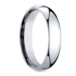 Mid-Weight Men's Wedding Ring in White Gold (5mm) | Thumbnail 02