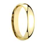 Mid-Weight Men's Wedding Ring in Yellow Gold (5mm) | Thumbnail 02