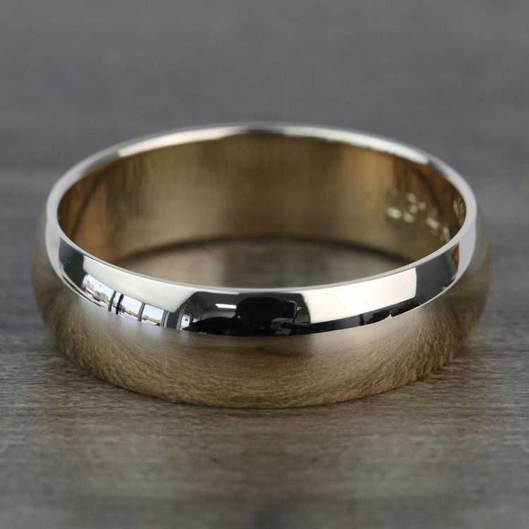 Mid-Weight Men's Wedding Ring in Yellow Gold (7mm) | 03