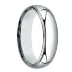 Mid-Weight Milgrain Men's Wedding Ring in Platinum (6mm) | Thumbnail 02