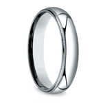 Milgrain Men's Wedding Ring in Palladium (5mm) | Thumbnail 02