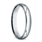 Milgrain Men's Wedding Ring in Platinum (4mm) | Thumbnail 02