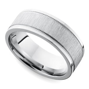 Unique Durable Affordable Mens Cobalt Wedding Rings