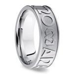 Mo Anam Cara Claddagh Men's Wedding Ring in Cobalt   Thumbnail 02