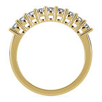 Nine Diamond Wedding Ring in Yellow Gold (1/2 ctw) | Thumbnail 03