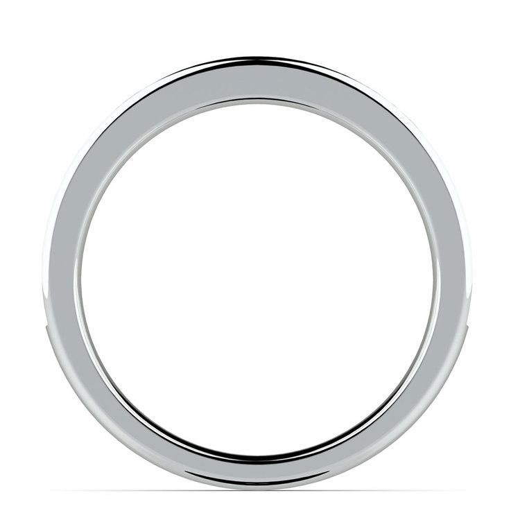 Pave Black Diamond Wedding Ring in Platinum | 03
