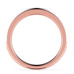 Pave Black Diamond Wedding Ring in Rose Gold   Thumbnail 03