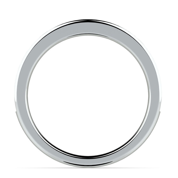 Pave Black Diamond Wedding Ring in White Gold | 03