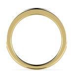 Pave Black Diamond Wedding Ring In Yellow Gold | Thumbnail 03