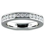 Pave Diamond Eternity Ring in Platinum (1 ctw) | Thumbnail 02