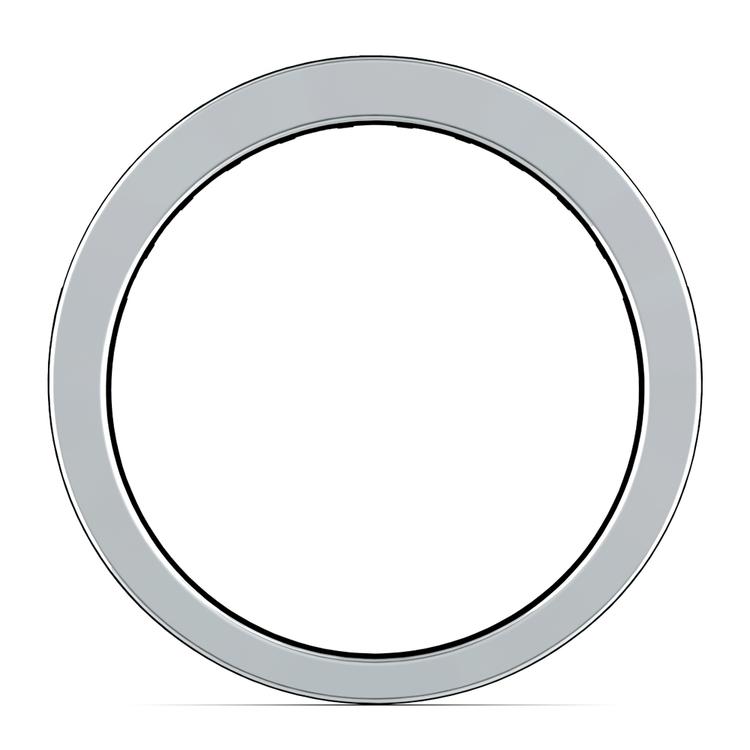 Princess Channel Diamond Wedding Ring in Platinum (1 ctw) | 03