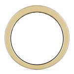 Princess Channel Diamond Wedding Ring in Yellow Gold (1 ctw) | Thumbnail 03