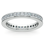Princess Channel Eternity Ring in Platinum (1 3/4 ctw) | Thumbnail 02