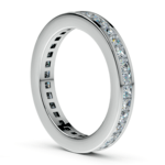 Princess Channel Eternity Ring in Platinum (1 3/4 ctw) | Thumbnail 04