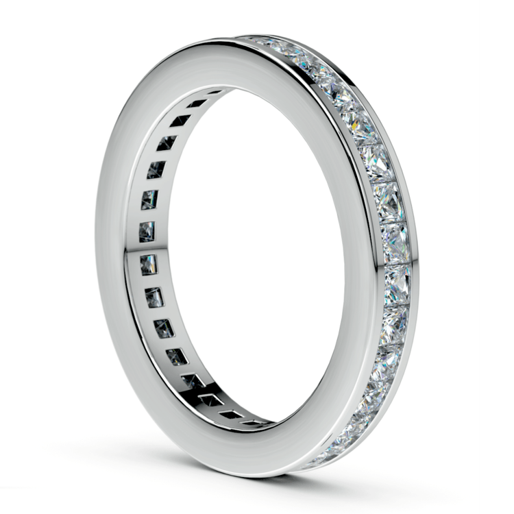 Princess Channel Eternity Ring in Platinum (1 3/4 ctw) | 04