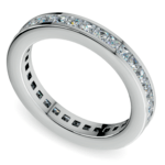 Princess Channel Eternity Ring in White Gold (1 3/4 ctw) | Thumbnail 01