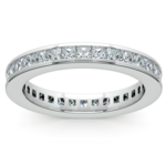 Princess Channel Eternity Ring in White Gold (1 3/4 ctw) | Thumbnail 02