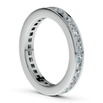 Princess Channel Eternity Ring in White Gold (1 3/4 ctw) | Thumbnail 04