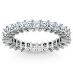Princess Diamond Eternity Ring in Platinum (2 3/4 ctw) | Thumbnail 02