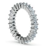 Princess Diamond Eternity Ring in Platinum (2 3/4 ctw) | Thumbnail 04