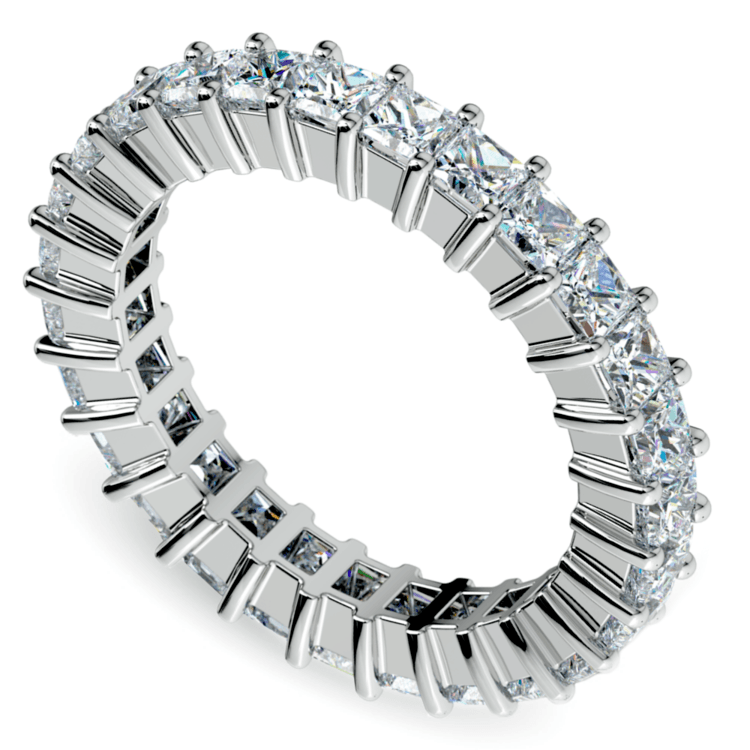 Princess Diamond Eternity Ring in Platinum (2 3/4 ctw) | 01