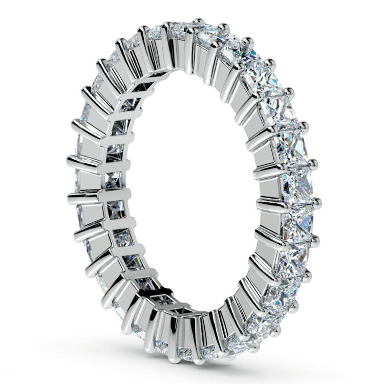 Princess Diamond Eternity Ring in Platinum (2 3/4 ctw) | 04