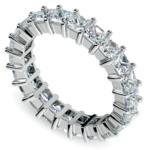 Princess Diamond Eternity Ring in Platinum (3 3/4 ctw) | Thumbnail 01