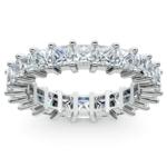 Princess Diamond Eternity Ring in Platinum (3 3/4 ctw) | Thumbnail 02