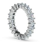 Princess Diamond Eternity Ring in Platinum (3 3/4 ctw) | Thumbnail 04