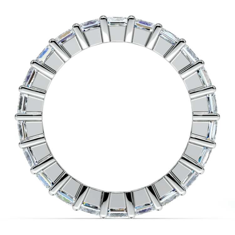 Princess Diamond Eternity Ring in Platinum (3 3/4 ctw) | 03