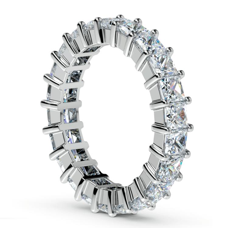 Princess Diamond Eternity Ring in Platinum (3 3/4 ctw) | 04