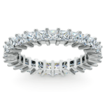 Princess Diamond Eternity Ring in White Gold (2 3/4 ctw) | Thumbnail 02