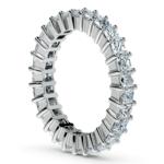 Princess Diamond Eternity Ring in White Gold (2 3/4 ctw) | Thumbnail 04