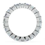 Princess Diamond Eternity Ring in White Gold (3 3/4 ctw) | Thumbnail 03