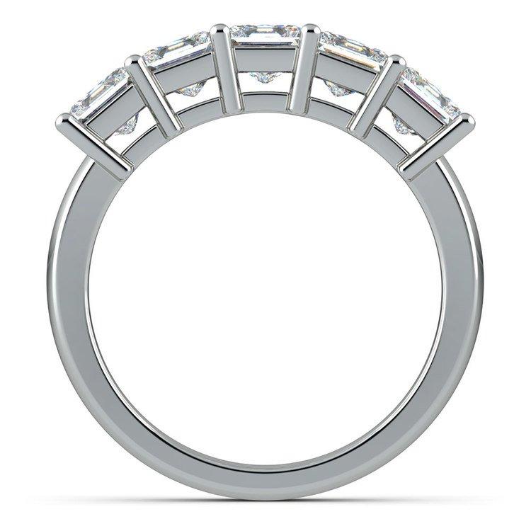Princess Five Diamond Wedding Ring in Platinum (2 ctw) | 03