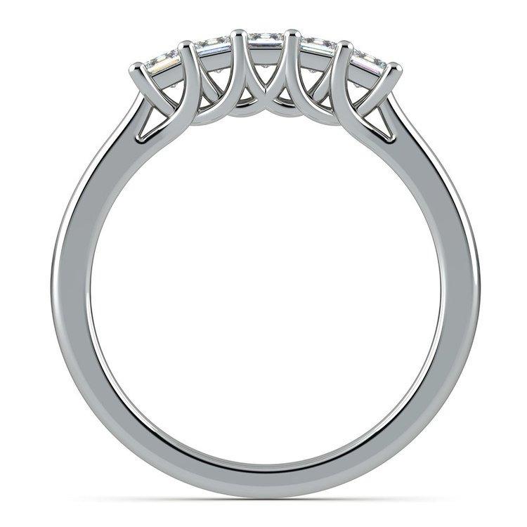 Princess Trellis Diamond Wedding Ring in Platinum (1/2 ctw) | 03