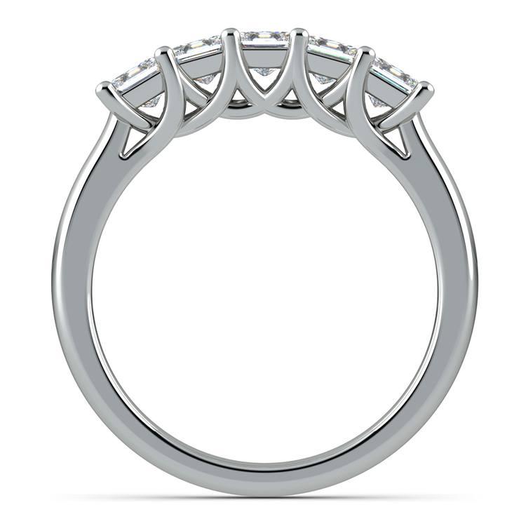 Princess Trellis Diamond Wedding Ring in Platinum (1 ctw) | 03