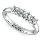 Princess Trellis Diamond Wedding Ring in Platinum (3/4 ctw)   Thumbnail 01