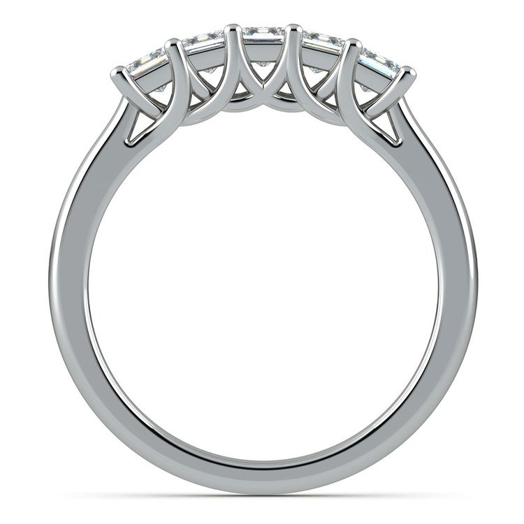 Princess Trellis Diamond Wedding Ring in Platinum (3/4 ctw)   03