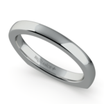 Rocker (European) Wedding Ring in Palladium (2.5mm) | Thumbnail 01