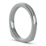 Rocker (European) Wedding Ring in Palladium (2.5mm) | Thumbnail 05