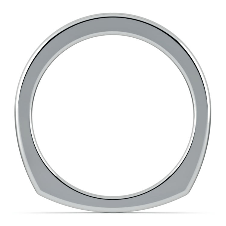 Rocker (European) Wedding Ring in Platinum (2.5mm) | 03
