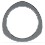 Rocker (European) Wedding Ring in Platinum (3.5mm) | Thumbnail 04
