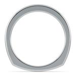 Rocker (European) Wedding Ring in White Gold (2.5mm) | Thumbnail 03