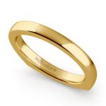 Rocker (European) Wedding Ring in Yellow Gold (2.5mm) | Thumbnail 01